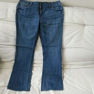 ANA low rise bootcut jeans.